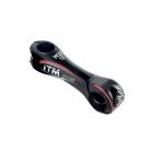 představec ITM ARIES 31,8/130mm/6° karbon, černý