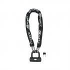 zámek FORCE řetězový 100cm/10mm, černý