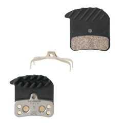 destičky brzd SHM640/820 kovové,s pružinou+chladič