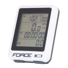 počítač FORCE 10 funkcí, drát, bílý