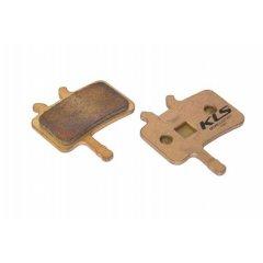 Brzdové destičky KLS D-02S, sintrované (pár)