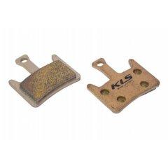 Brzdové destičky KLS D-07S, sintrované (pár)