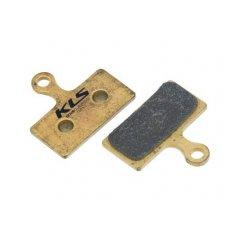Brzdové destičky KLS D-14S, sintrované (pár)