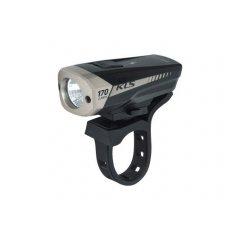 Osvětlení přední dobíjecí KLS SPITFIRE, black