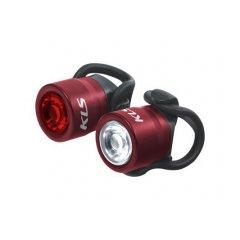 Osvětlení set KLS IO, red