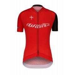 dres WILIER CLUB LADY krátký rukáv, červený