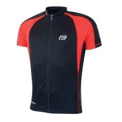 dres FORCE T10 krátký rukáv, černo-červený