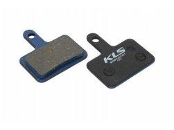 Brzdové destičky KLS D-04, organické (pár)