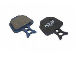 Brzdové destičky KLS D-09, organické (pár)