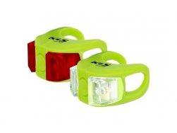 Osvětlení set KLS TWINS, lime green