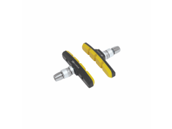 gumičky brzd F jednorázové, črn-žluté 70mm balené