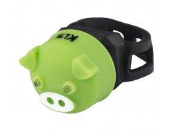 KELLYS Osvětlení zadní KLS PIGGY, green