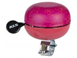 KELLYS Cyklistický Zvonek Bell 60 Doodles ružový