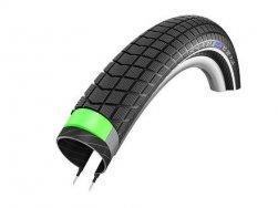 Schwalbe plášť Big Ben Plus 24x2.15 DoubleDefense GreenGuard černá+reflexní pruh