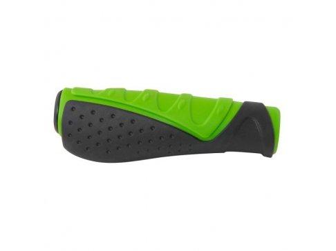 madla FORCE gumová tvarovaná, černo-zelená, balená