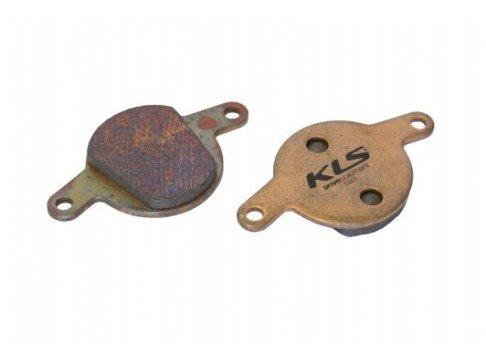 Brzdové destičky KLS D-11S, sintrované (pár)