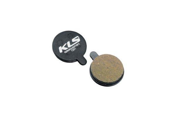 Brzdové destičky KLS D-13, organické (pár)