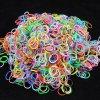 Gumičky Loom Bands s háčikom 270 ks - farebný mix