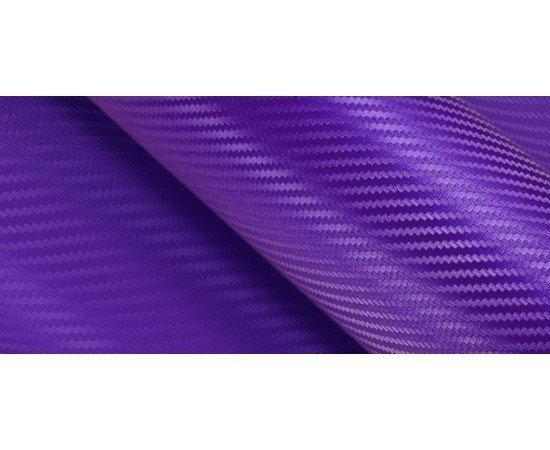 3D karbónová folie fialová (š.1,27m)