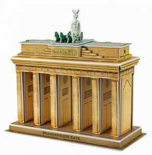 3D puzzle - Brandenburská brána 20 x 8 x 18