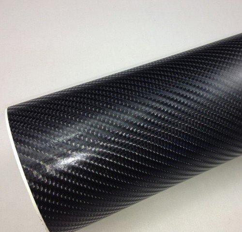 4D Karbónová fólia s AIR FREE čierna (š.1,52m)