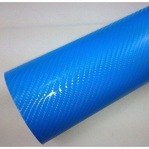 4D karbónová folia S AIR FREE Modrá (š.1,52m)