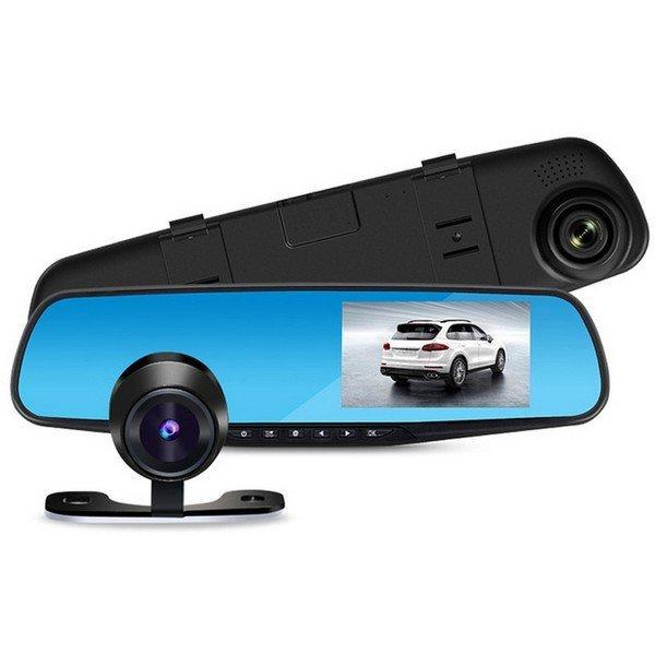 FULL HD kamera ve zpětném zrcátku s LCD displejem