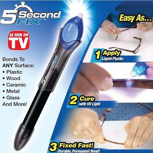 Rychleschnoucí UV lepidlo 5 Second Fix