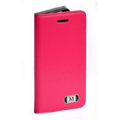 Luxusné púzdro typu kniha pre Samsung Galaxy S6 ružové
