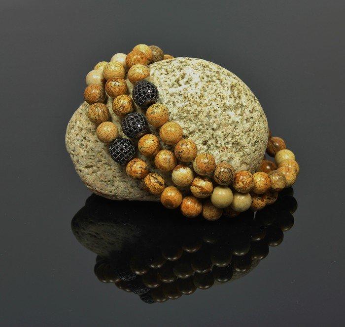 naramek-s-disko-kouli-lk313-z-prirodnich-jaspis-kamenu