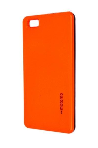 Motomo Huawei P8 Lite narancsszínű fényvisszaverő tok