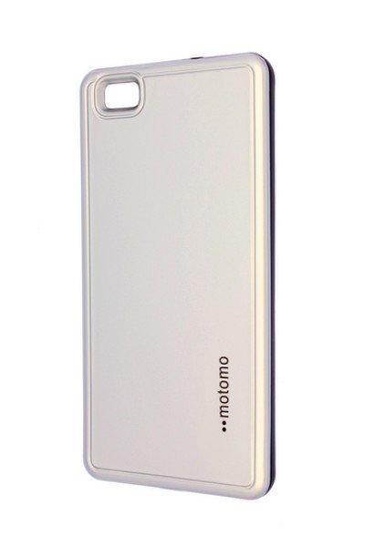 Púzdro Motomo Huawei P8 Lite strieborné