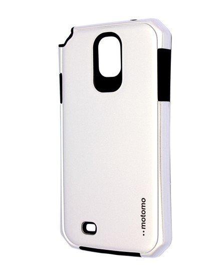 Púzdro Motomo Samsung Galaxy S4 strieborné