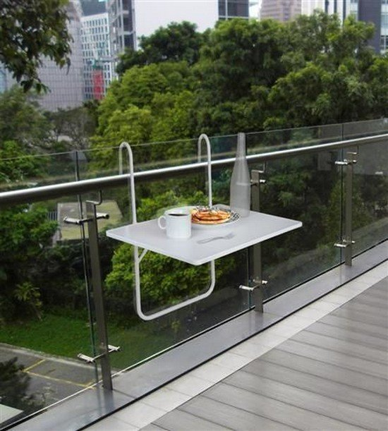 Verk Závěsný balkonový stůl