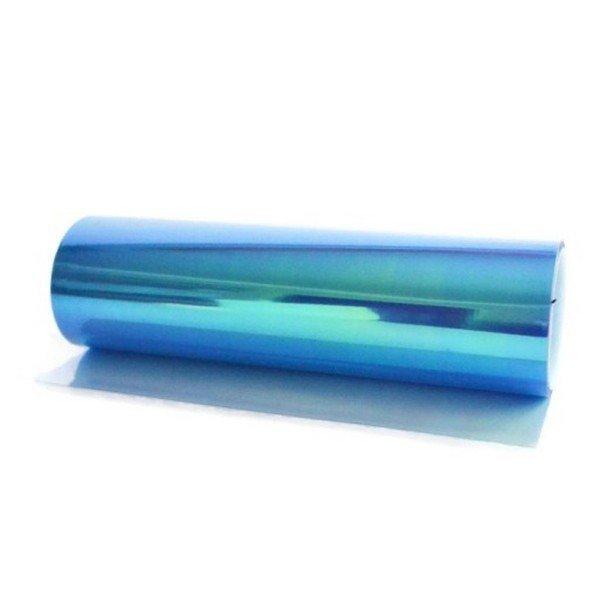 Termoplastická samolepiaca fólia na svetlá modrá