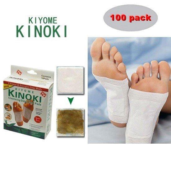 Méregtelenítő tapaszok KINOKI 100 db