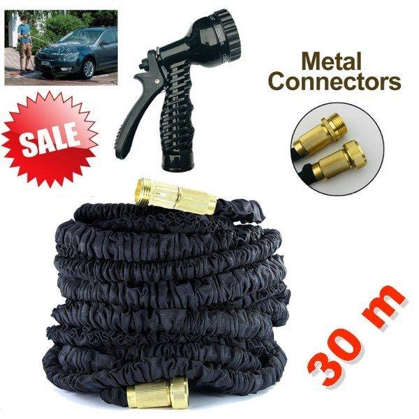 Monster flexibilní zahradní hadice 30 m + kovové spojky
