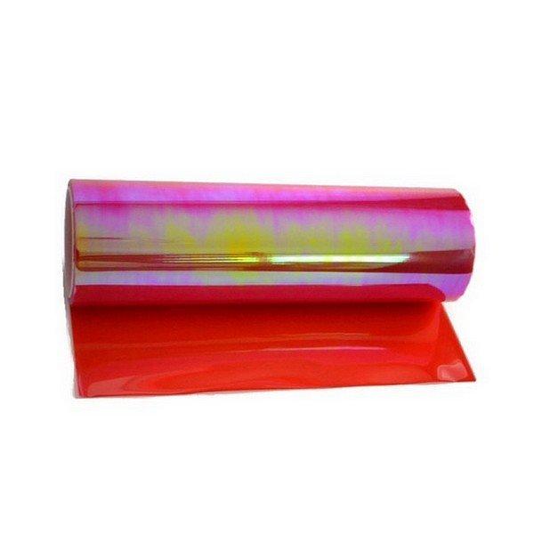 Termoplastická samolepící fólie na světla červená chameleon