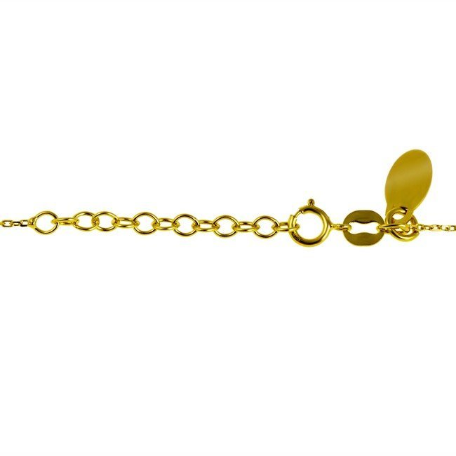 nahrdelnik-strieborny-925-pozlateny-trojlistok-sa-zirkonom-44-5-cm
