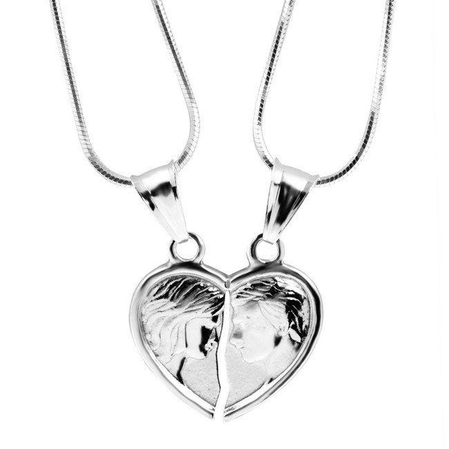 privesok-rozlomene-srdce-lovers-striebro-925