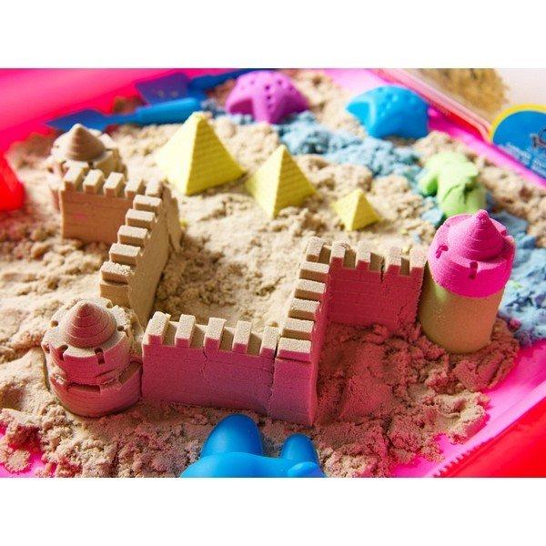 Varázslatos homok 2kg, káddal és formákkal