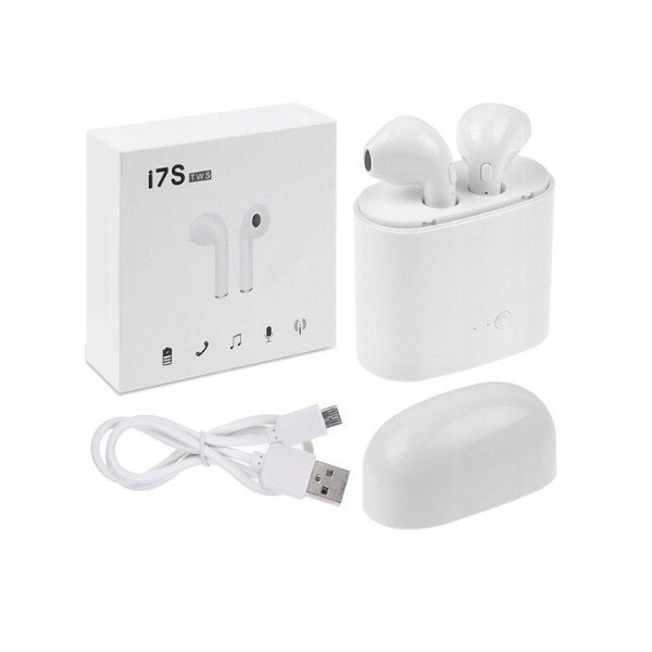 Bezdrôtové bluetooth slúchadlá i7S TWS s dobíjacím boxom. | BONY plus