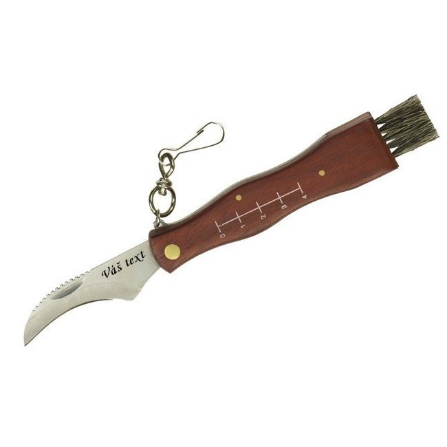 Gombás-kés: penge hossza 7,5 cm