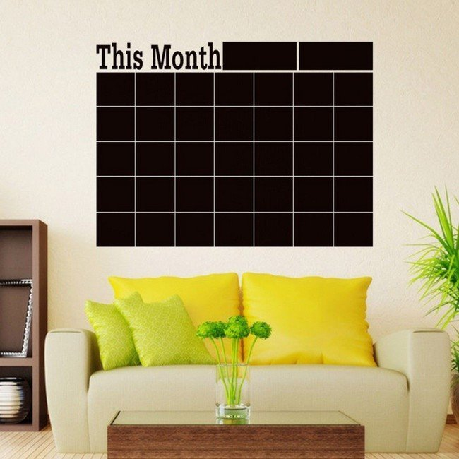 Öntapadós naptár 60 x 45 cm