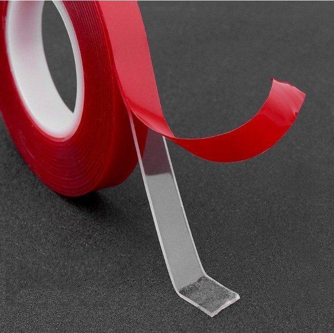 Kétoldalas ragasztószalag 300 cm x 1 cm