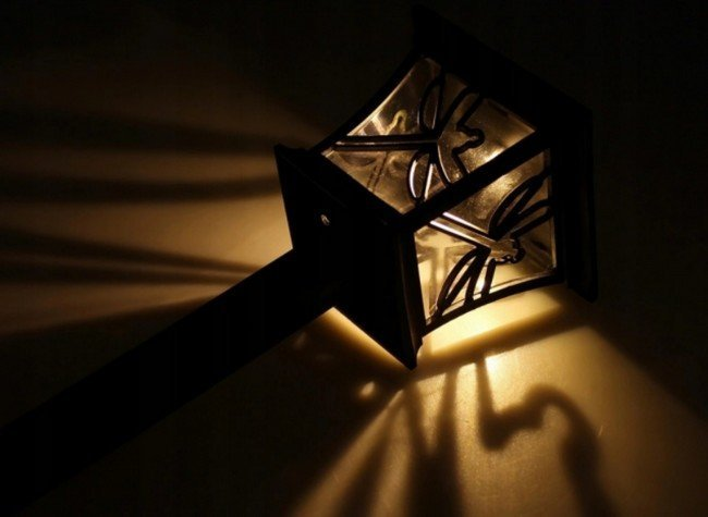 Kerti napelemes lámpa APT K35 Lucerna