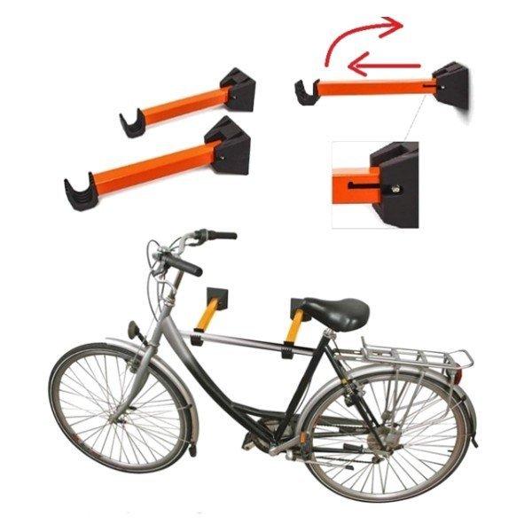 Nástěnný držák na jízdní kolo