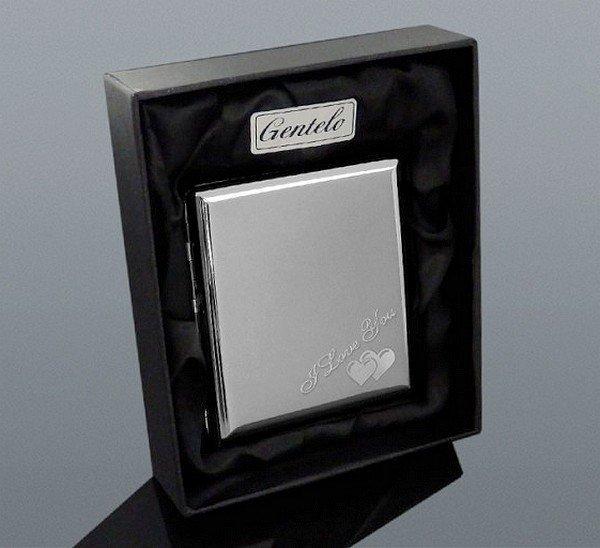 Tabatěrka na cigarety Gentelo 0371 + Možnost Gravírování