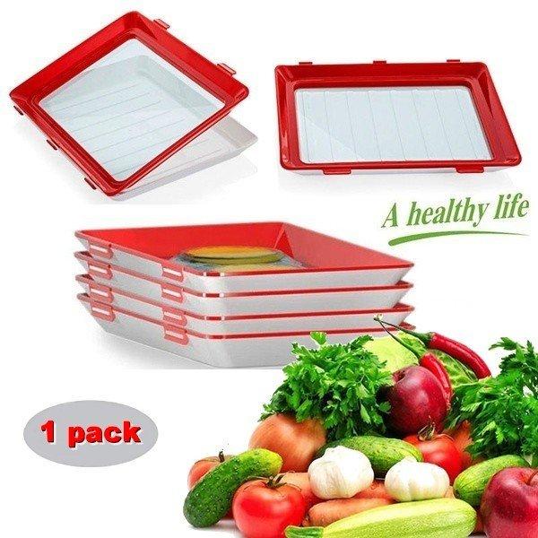 Clever Tray 1011 Vakuový podnos na skladování potravin 30x22,3 cm