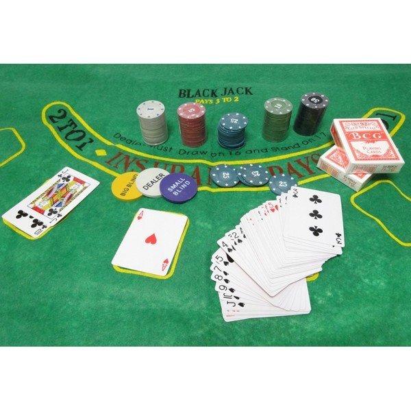300 db-os Texas Hold'em POKER zsetonkészlet + vászon
